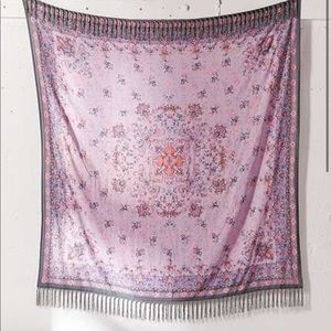 Petra folk tapestry with tassles